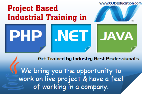 project training in gomti nagar